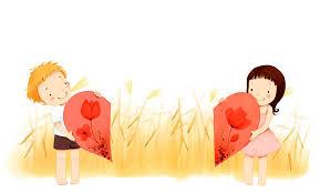 children u0027s wallpaper boys heart love smile flower spikes hd