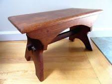 Antique Parsons Bench Oak Antique Benches U0026 Stools Ebay