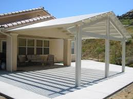 Lattice Patio Ideas by Concrete Patio Ideas To Choose From For Your Compound