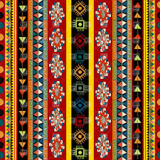 striped ethnic pattern seamless mexican ornament royalty free