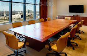 Office Furniture Conference Table Wood Veneer Conference Tables Large Oversized Office Furniture