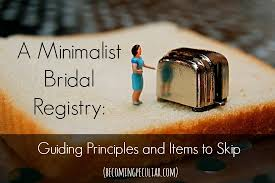 bridal registry list a minimalist bridal registry part one some guiding principles