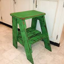 Shabby Chic Furniture Ct by Amazon Com Rustic Wood Step Stool Shabby Chic Furniture Bedroom