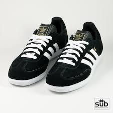 black samba samba black white