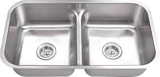 16 Gauge Kitchen Sink by Www Iptsink Com M 3218ld 18 Gauge Double Bowl Undermount