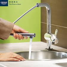 kitchen faucet grohe usd 1839 92 altimeter kitchen faucet suction pull kitchen faucet