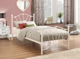 birlea sophia bed metal cream single amazon co uk kitchen u0026 home