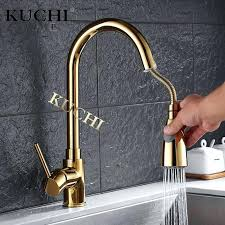 water faucets kitchen gold faucet kitchen fast delivery single handle single gold