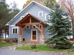Cottage Front Porch Ideas by This Keuka Lake Cottage Uses A Strong Gable Form Repeated By Its