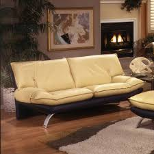 leather furniture companies pearce camel top grain couch italian