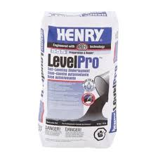 Self Leveling Table Feet Henry 555 Level Pro 40 Lb Self Leveling Underlayment 12165 The