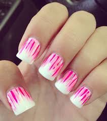 White Pink Nail 30 Pink Nail Design Tutorials With Pictures