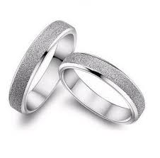 silver wedding bands 2016 hot sell fashion rings 925 sterling silver