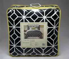 trina turk trellis black twin twin xl comforter set