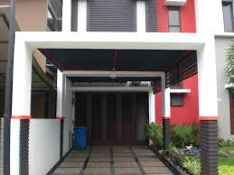 contoh foto dan desain kanopi rumah minimalis modern