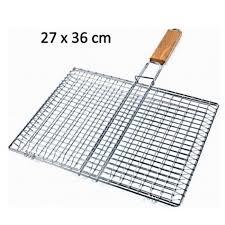 grille de cuisine grille a barbecue rectangulaire 27 x 36 cm metal cuisine