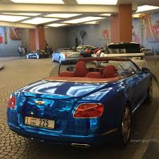bentley convertible blue blue chrome bentley cgt convertible madwhips