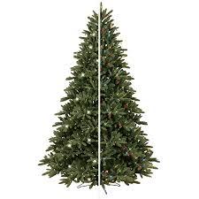 fantastic tree at lowes shop ge ft pre lit