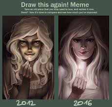 Draw It Again Meme - draw this again meme by cut box on deviantart