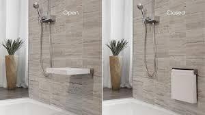 Fold Down Shower Bench Simple Diy Ada Shower Seat Installations U2014 The Homy Design