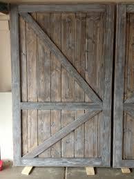 Make Barn Door by Ana White Barn Door Closet Doors Diy Projects
