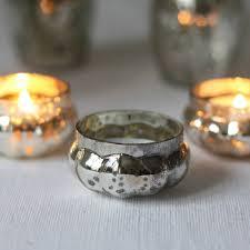silver tea light holders mini mercury silver tea light holder by the wedding of my dreams