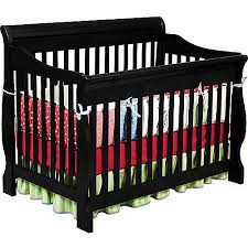 Black Convertible Crib Delta Children Canton 4 In 1 Convertible Crib Black Walmart
