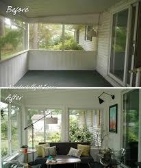 screened porch to three season room renovation accidentally mj