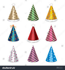 party hat set stock vector 90052576 shutterstock