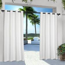 Sunbrella Outdoor Curtain Panels by Outdoor Bamboo Curtain Panel 40 W X 63 L Collection Discover The
