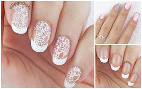 wedding nails 3 ways help me choose my wedding day nails d
