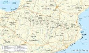 Road Map Of France by France U2013spain Border Wikipedia