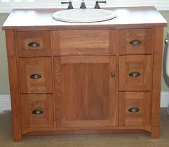 shaker style bathroom vanities solid cherry bathroom vanity