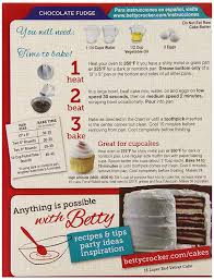 amazon com betty crocker supermoist cake mix chocolate fudge