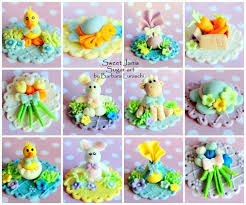 Easter Edible Cake Decorations by 321 Best Cupcake Toppers Images On Pinterest Cupcake Toppers