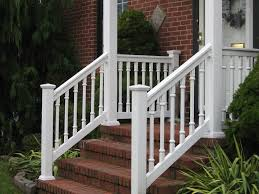 porch banister patio vinyl porch railing trends and outdoor ideas picture home