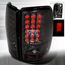 2001 silverado tail lights chevrolet tahoe 2000 2006 smoke led tail lights chevy tahoe