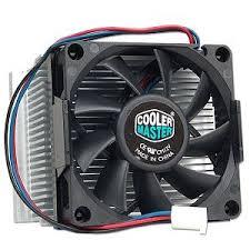 cooler master cpu fan amazon com cooler master di4 7h51c 70mm processor cooler socket