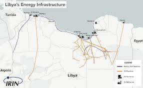 Map Of Libya Irin Libyan Oil Wars And The Battle For Tripoli