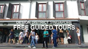 guided tours of singapore design district singapore free guided tours youtube