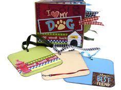 Dog Scrapbook Album Love My Dog Scrapbook Paper Bag Album By Apicketfencelife On Etsy