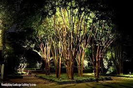 Moonlighting Landscape Lighting The Governor House Traditional Landscape