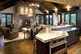 open concept kitchen living room designs open concept kitchen living room the gray carpet two white window
