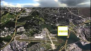 Portland International Airport Map by Watch Us Fly Into Portland International Airport In Maine Youtube