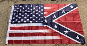 Flag Confederate States Of America Half And Half Confederate Flag 3x5 And 4x6 U2013 Rebel Nation