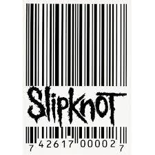Slipknot Flag Slipknot Barcode Postcard Musik