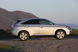 exploit nature in clean hybrid lexus suv get off the road