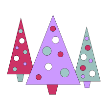 christmas tree border clipart clipart panda free clipart images