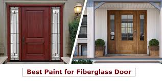what is the best paint to use on oak kitchen cabinets what of paint is best to use on fiberglass door