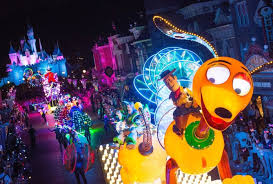 electric light parade disney world rumor paint the night to replace main street electrical parade